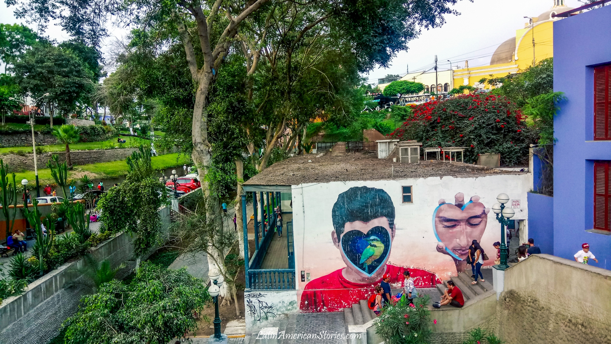 Spacer po Barranco – Lima, Peru